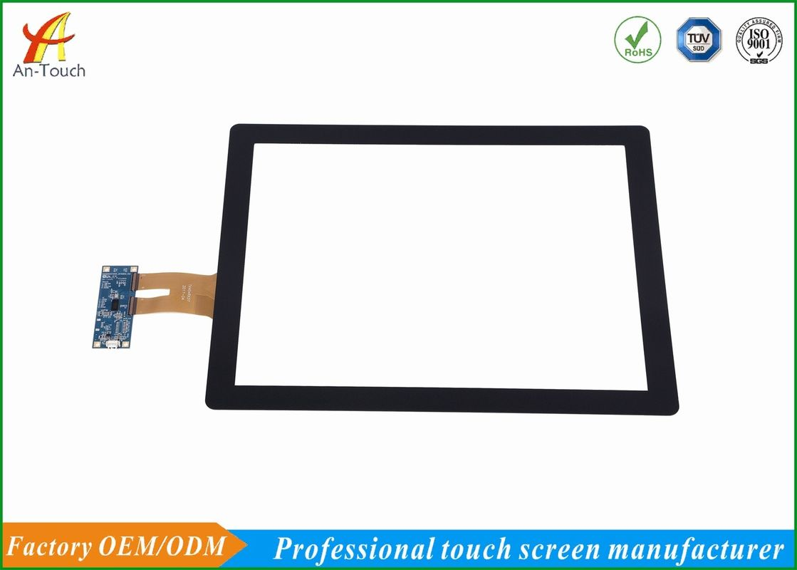 Custom 15 Inch Projective Touch Screen Panel GG Structure For POS Machine