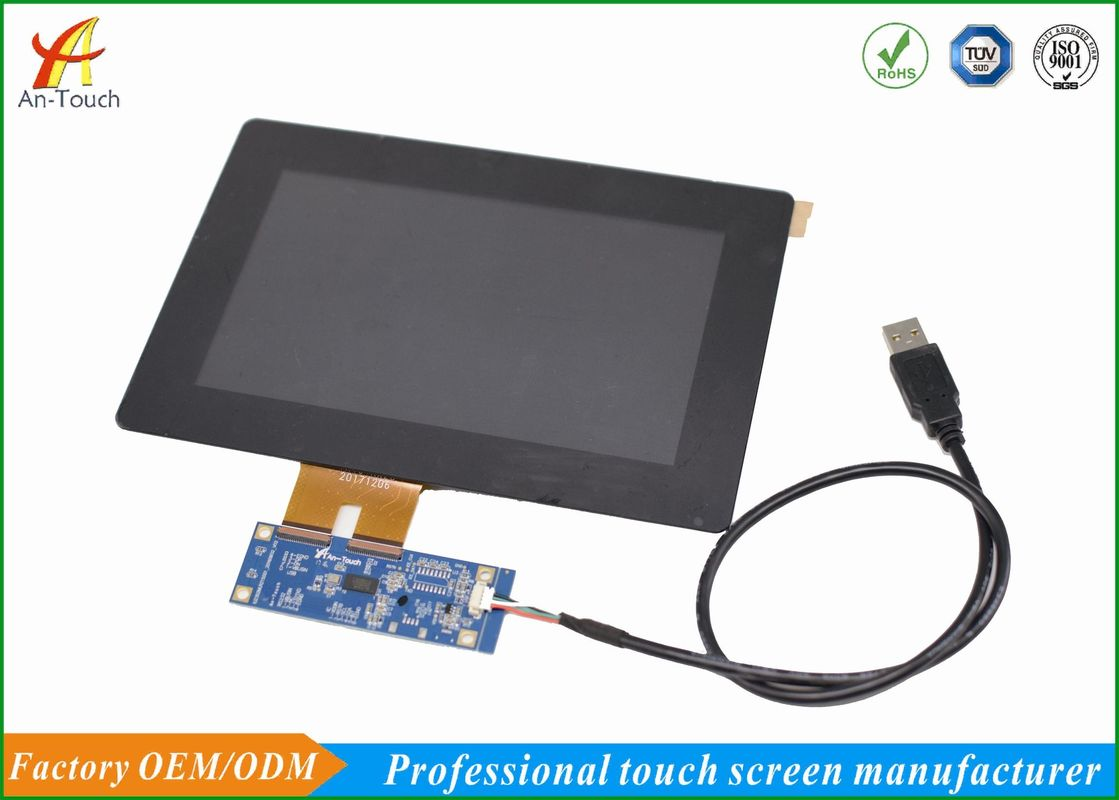 Integrated LCD CTP Touch Screen , 7 Lcd Touch Screen Panel 12 Month Warranty