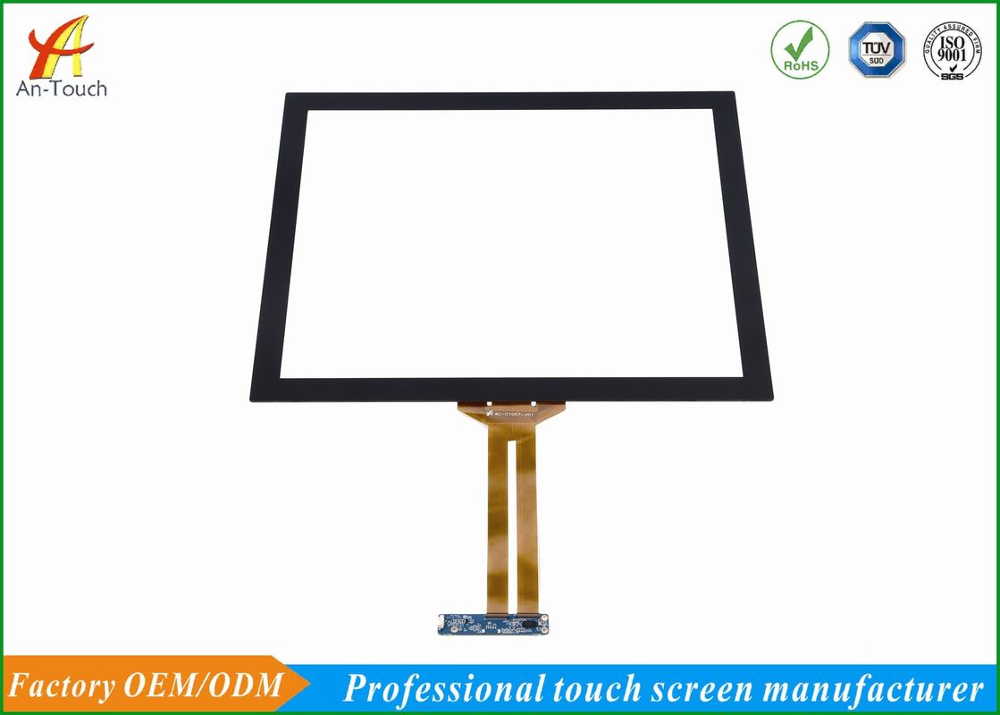 USB 19 Touch Screen Panel 4096*4096 Resolution For Industrial Devices