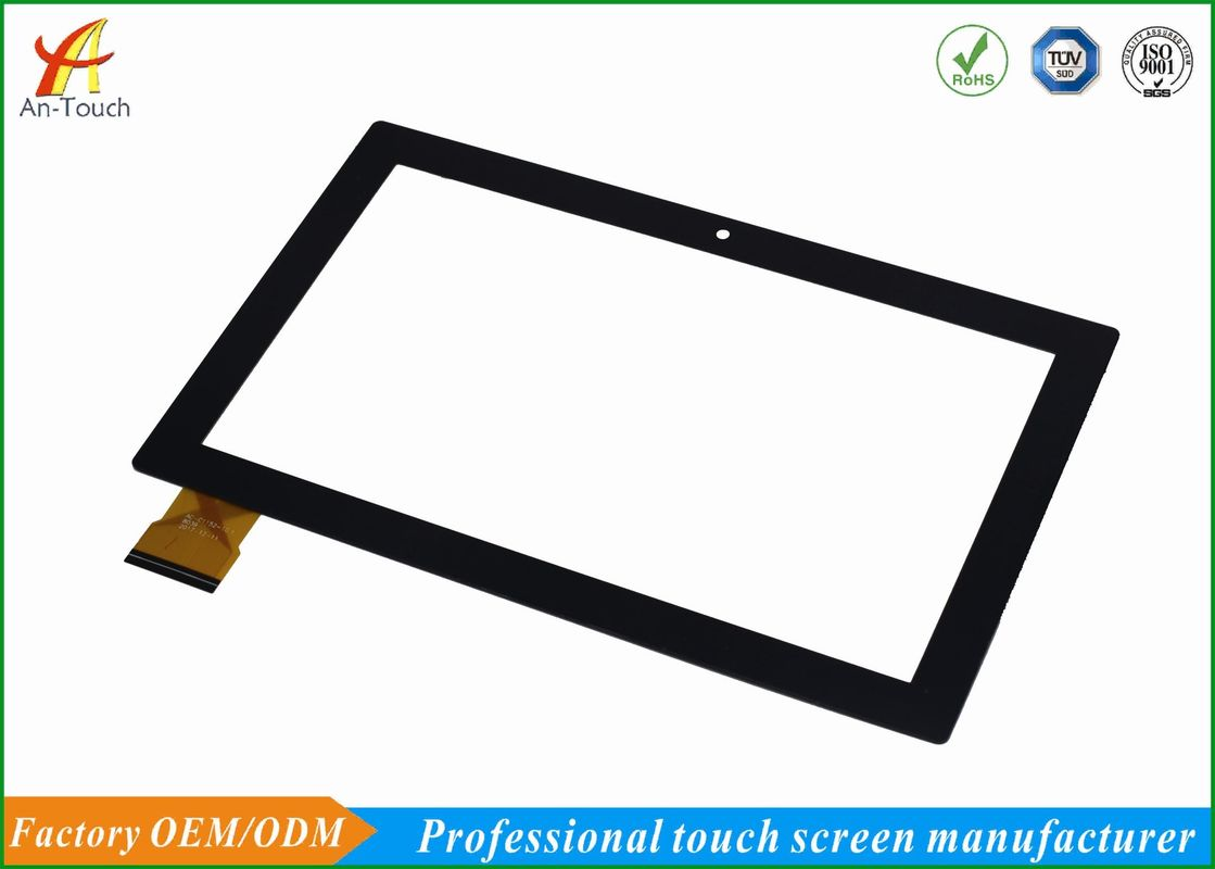 High Hardness 10.1 Capacitive Touch Panel Beautiful Design For Advisement Player
