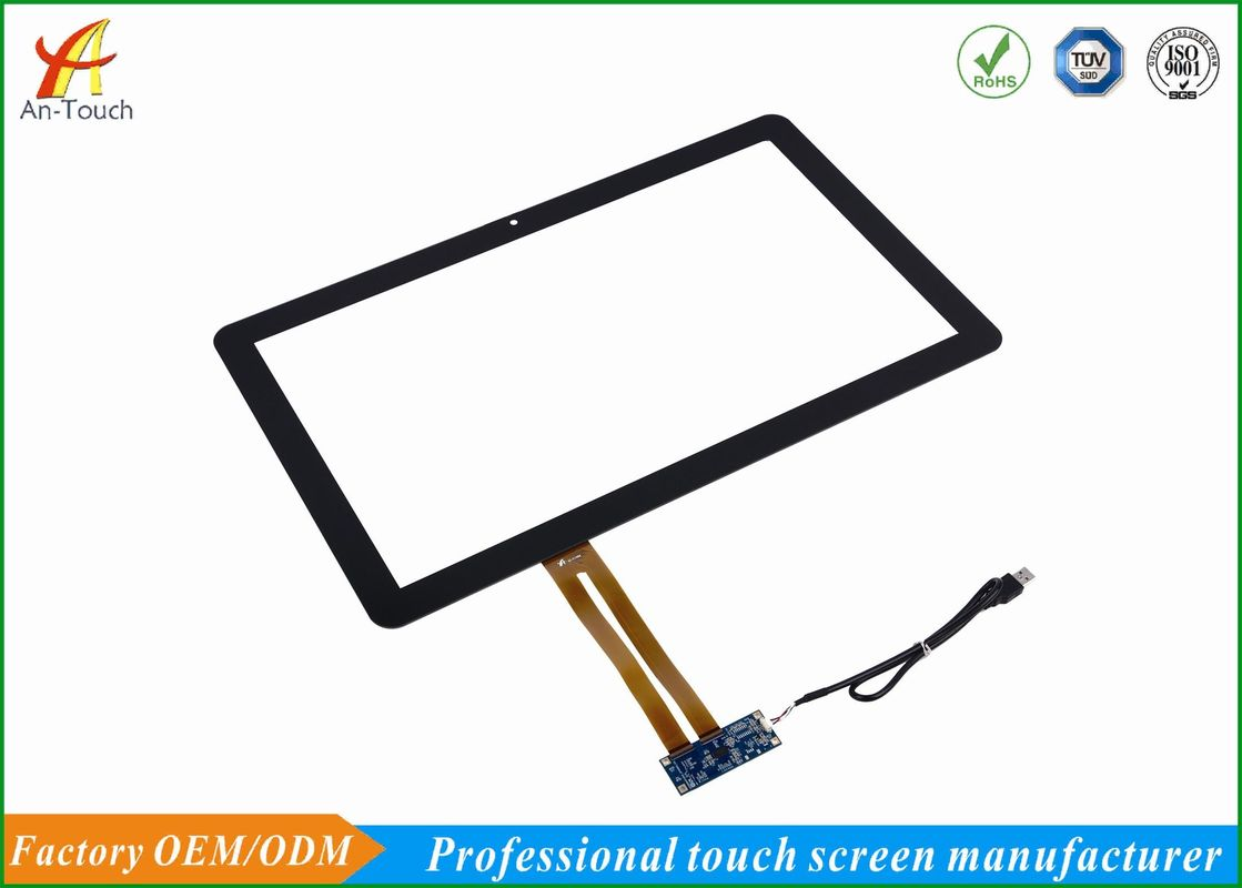 Capacitive KTV Touch Screen Overlay Kit 21.5 Inch , 10 Point Multi Touch Panel