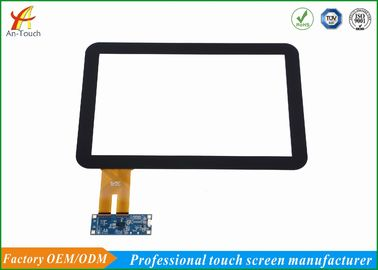 Commercial 12.1 แผงฉายภาพแบบ Capacitive Touch Panel แผงกระจกสำหรับ LCD
